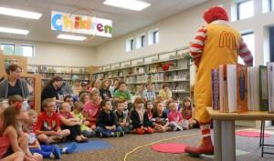 Ronald McDonald @ Peebles Library | Peebles | Ohio | United States