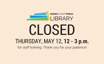 May 12 Closed