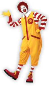 Ronald McDonald @ North Adams Library | Seaman | Ohio | United States