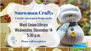Snowman Primitives @ West Union Library | West Union | Ohio | United States