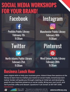Business Lunch Hour: Twitter @ North Adams Library | Seaman | Ohio | United States