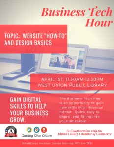 Business Website Workshop @ West Union Library | West Union | Ohio | United States