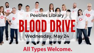 Blood Drive @ Peebles Library | Peebles | Ohio | United States