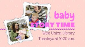 Baby Story Time @ West Union Library | West Union | Ohio | United States