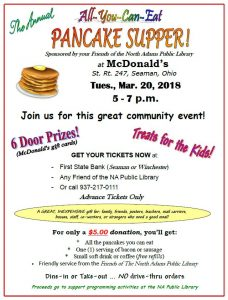 Pancake Supper @ McDonald's | Seaman | Ohio | United States