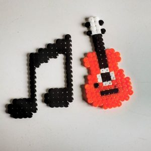 Music Perler Beads @ Peebles Library | Peebles | Ohio | United States