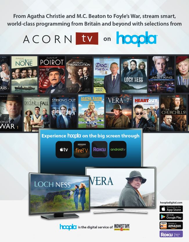 Hoopla Offers Digital Content for Library Patrons