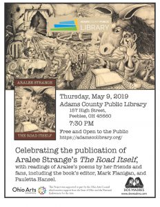 Poetry Reading: Aralee Strange's The Road Itself @ Peebles Library