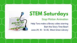 STEM Saturday @ West Union Library