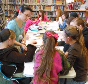 Teen Art Class @ West Union Library