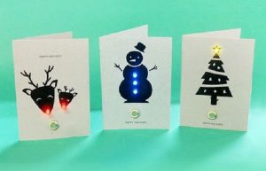 L.E.D. Holiday Cards @ North Adams Library