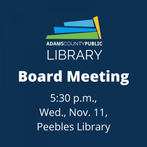 Board Meeting @ Peebles Library