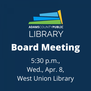 Board Meeting @ West Union Library