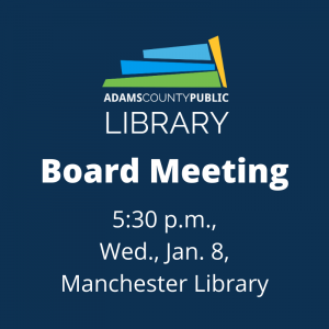Board Meeting @ Manchester Library